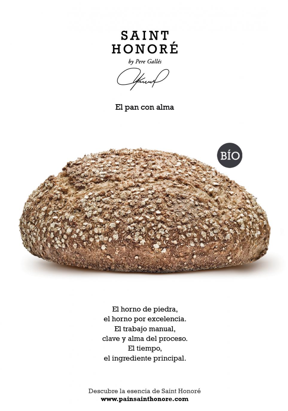Póster Pavé Espelta y Quinoa BÍO