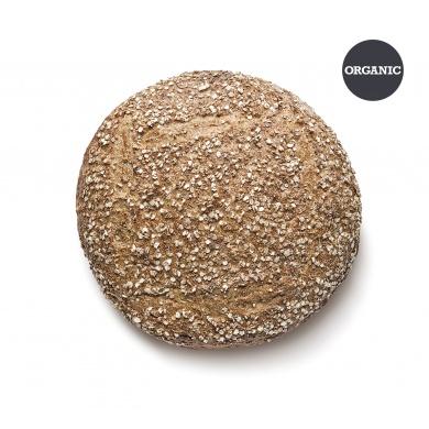 ORGANIC SPELT & QUINOA ROUND BREAD